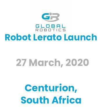 Robot Lerato Launch