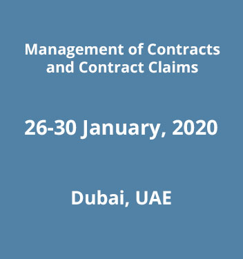Management of Contracts & Contract Claims